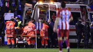 Fernando Torres Ambulance Atletico Madrid 2017