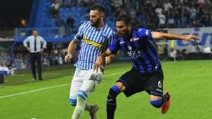 Mirko Antenucci Josè Palomino SPAL Atalanta Serie A