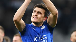 Harry Maguire Leicester City 2017-18