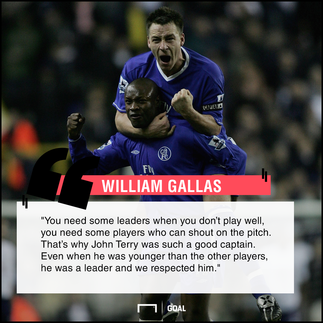 John Terry leader William Gallas