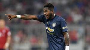 Fred Manchester United Bayern Munich 050818
