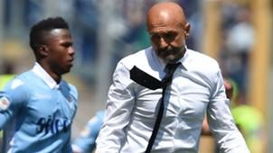 Luciano Spalletti Roma Lazio Serie A