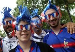 Fans ahead of France vs Albania Euro 2016
