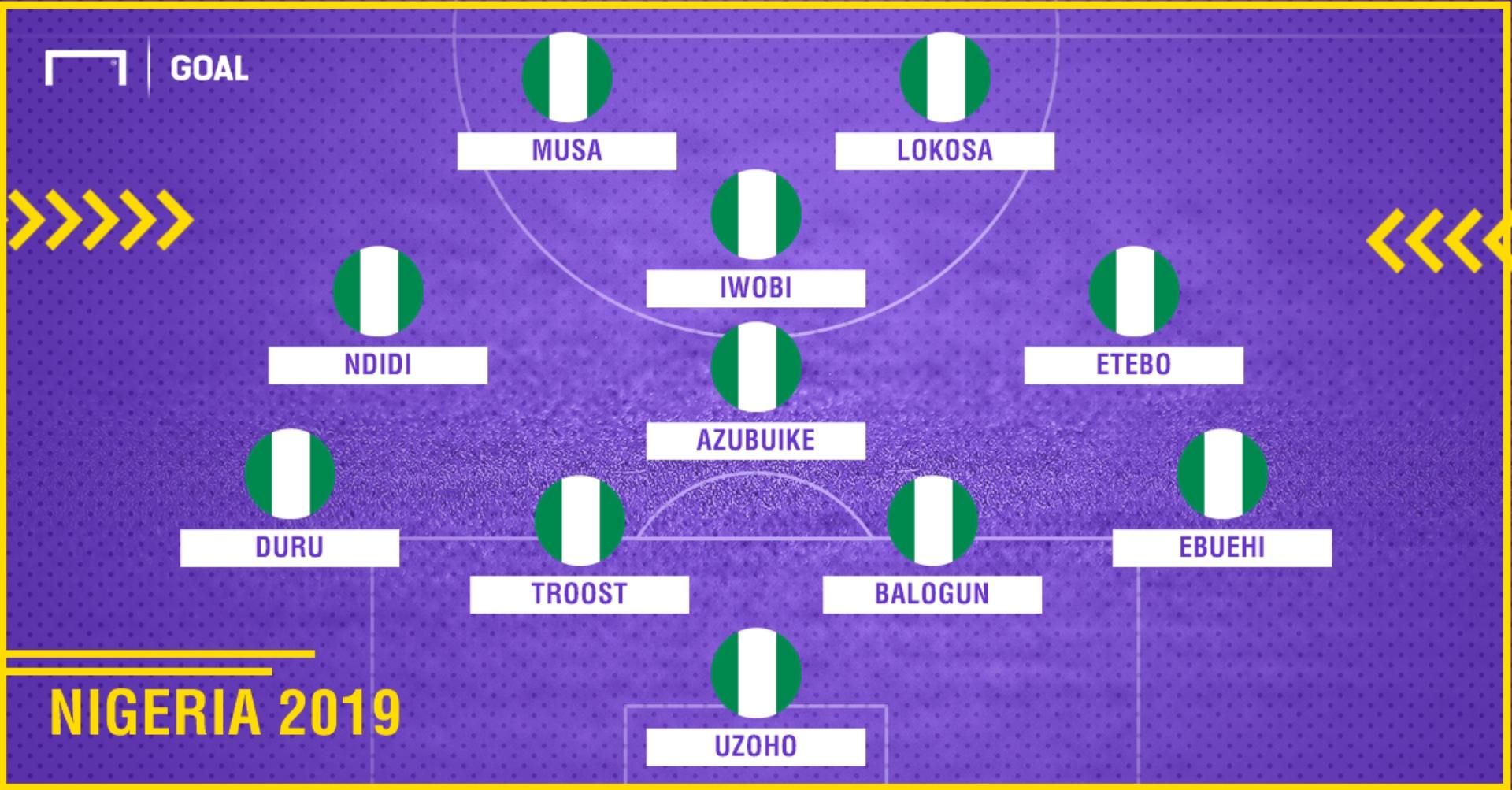 Nigeria 2019 PS