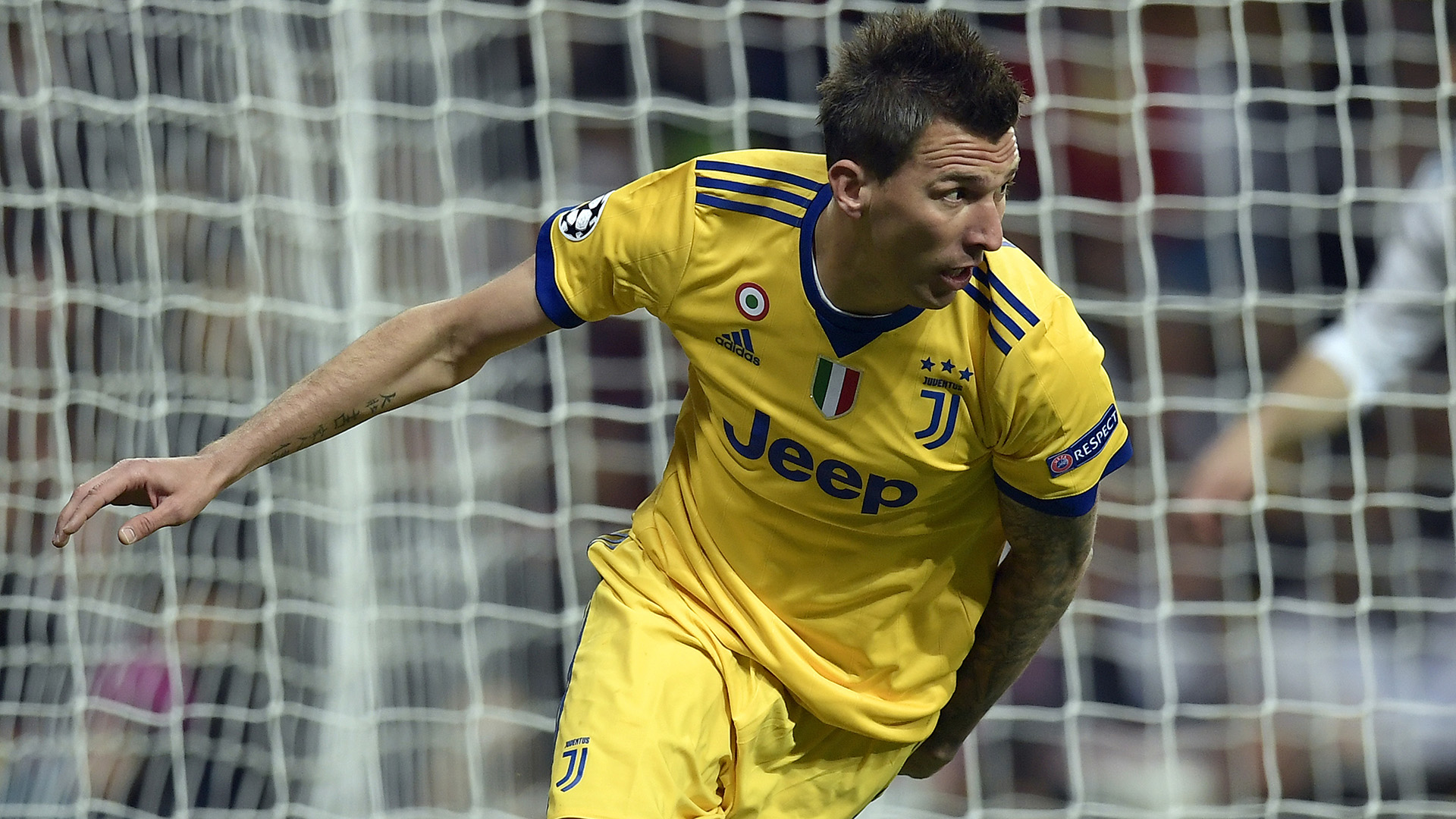 Mario Mandzukic Real Madrid Juventus Champions League