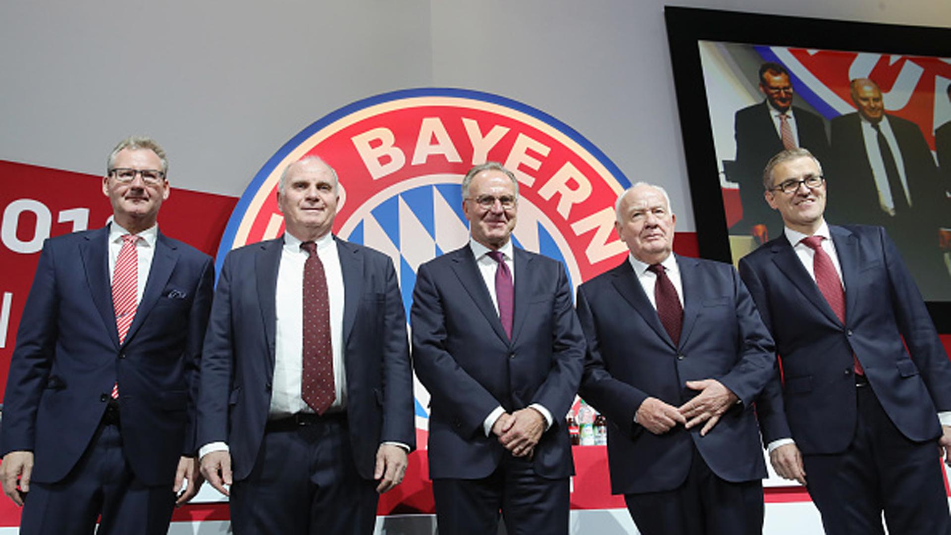 Uli Hoeneß Karl-Heinz Rummenigge FC Bayern