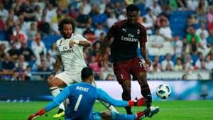 Keylor Navas Real Madrid Milan Trofeo Bernabéu