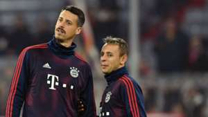 Sandro Wagner Rafinha FC Bayern München 07112018