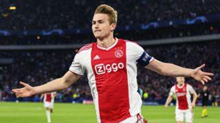Matthijs de Ligt Ajax Champions League 2019