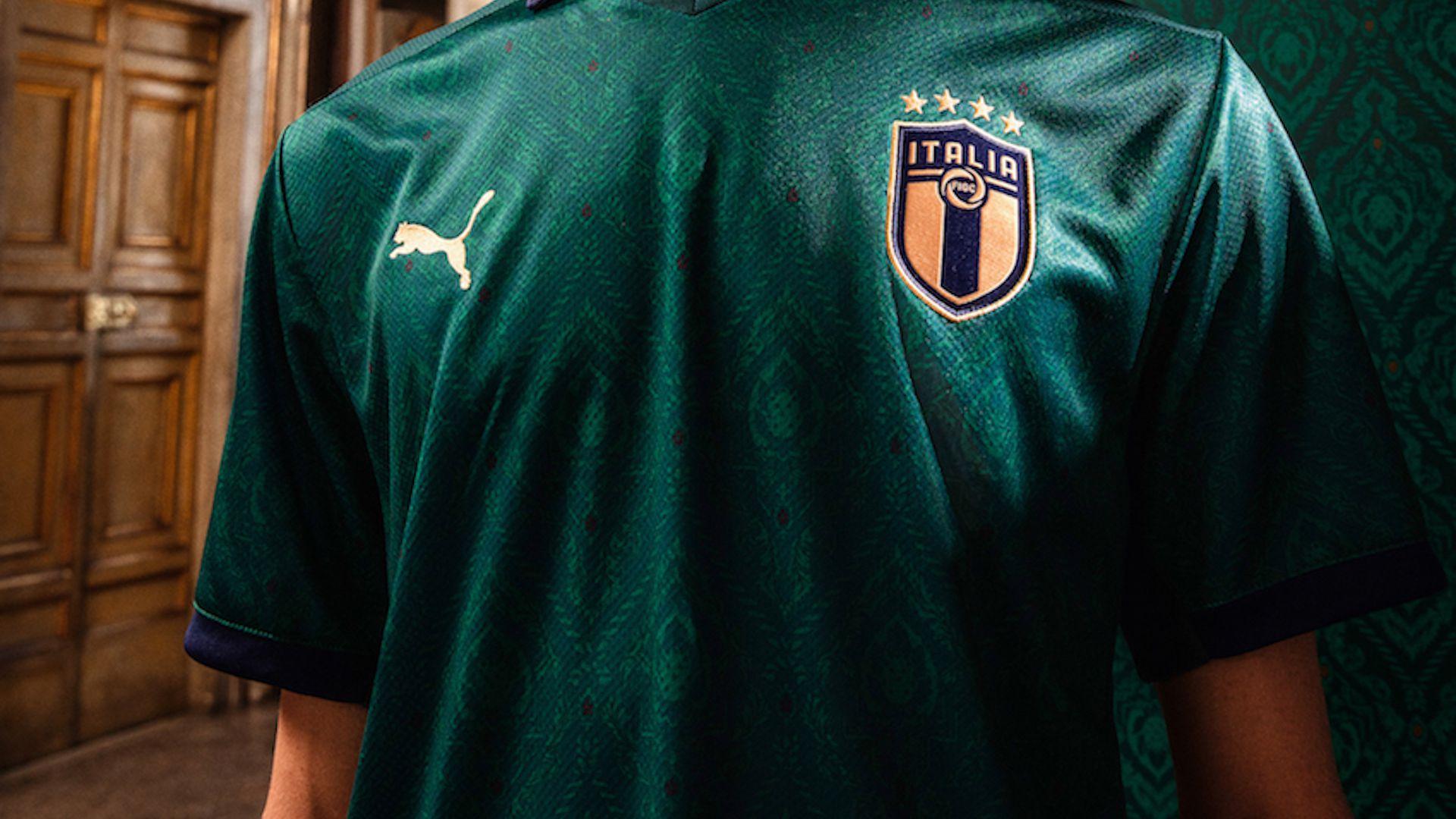 Nazionale, dopo 65 anni torna la maglia verde