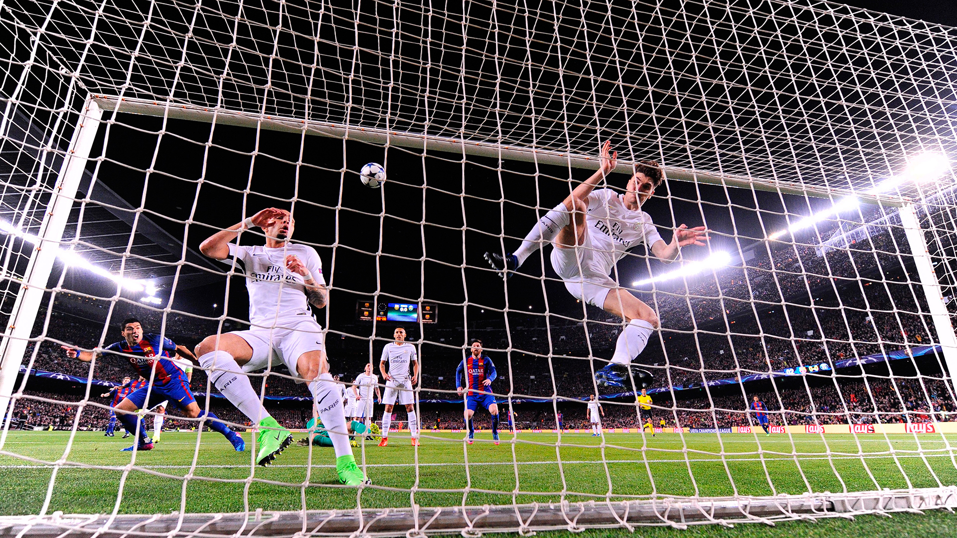 Thomas Meunier Barcelona PSG Champions League