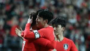 Corea del Sur gol a Colombia Amistoso 2019