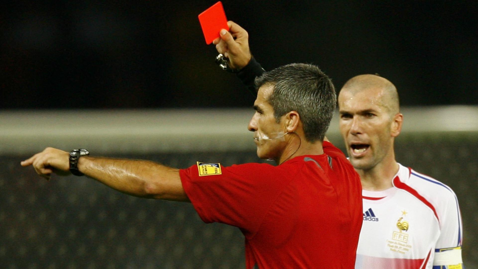 Zinedine Zidane France FIFA World Cup 2006
