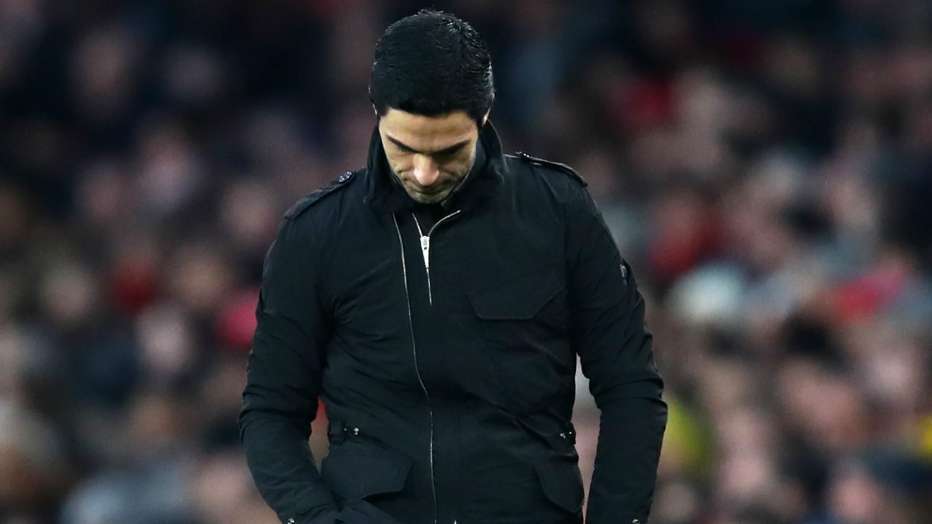 Mikel Arteta Arsenal 2019-20