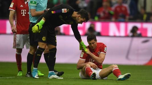Robert Lewandowski, Bayern München, Borussia Dortmund, 11042017