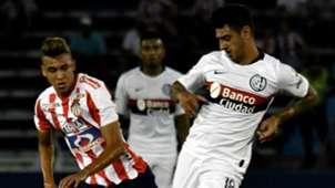 Victor Cantillo Junior San Lorenzo Copa Libertadores 2019
