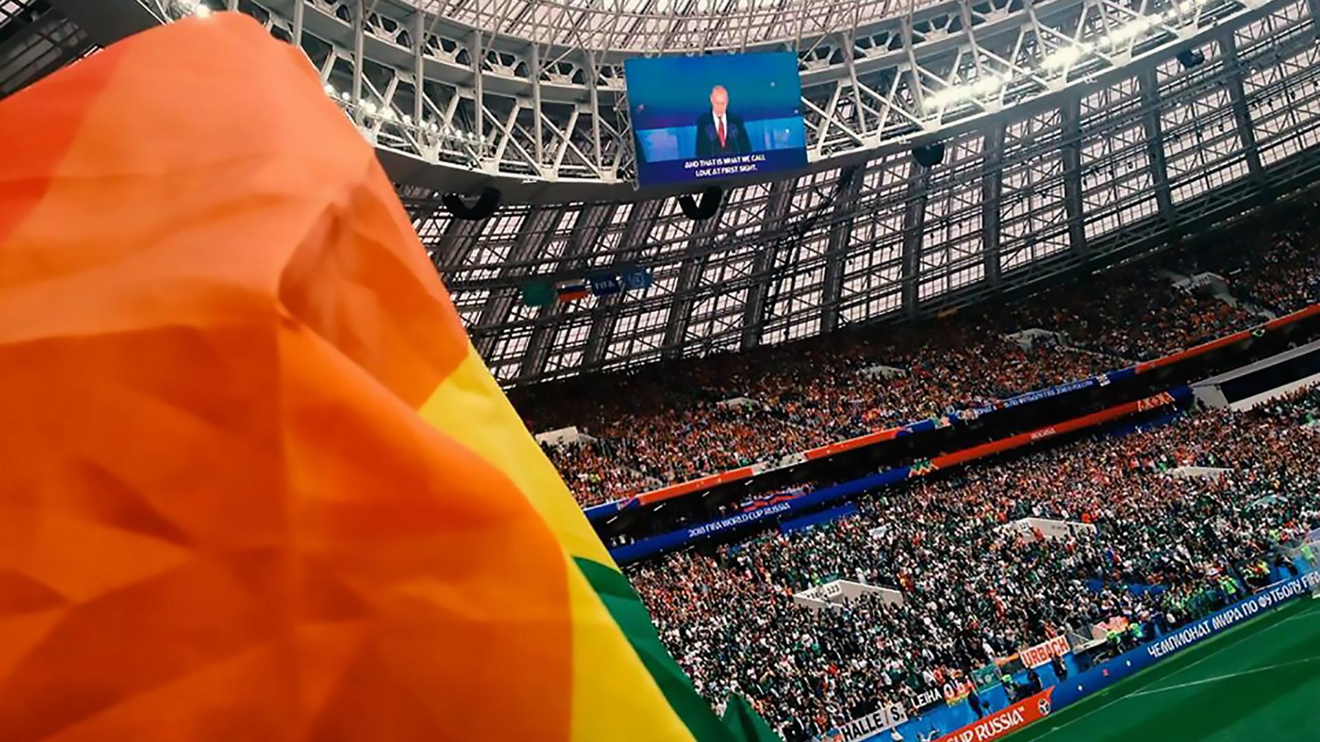 Rainbow Flag Luzhniki