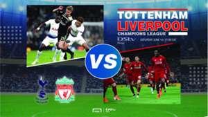 DStv Now Tottenham v Liverpool