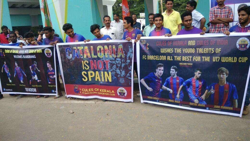 Cules of Kerala Spain U17