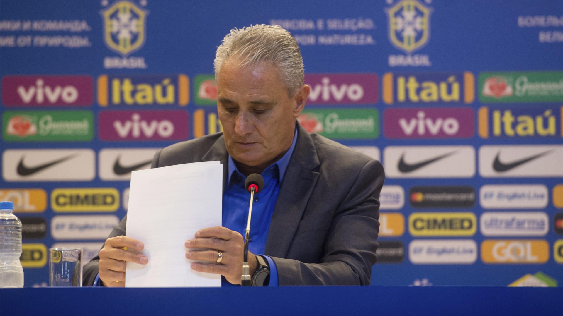 Tite Seleção Brasileira convocação para Copa 18 14 05 18