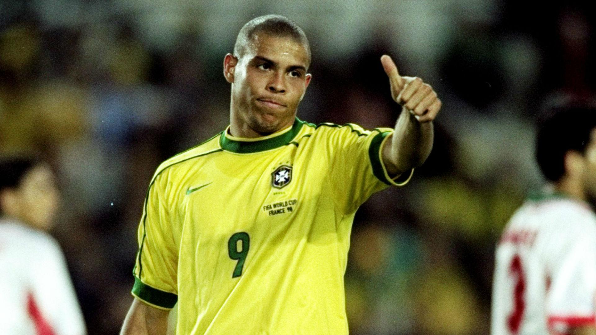Ronaldo Brazil 1998 World Cup