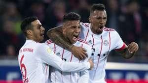 Thiago Corentin Tolisso Jerome Boateng Bayern Munich