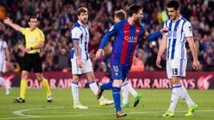 Lionel Messi Barcelona Real Sociedad La Liga 15042017