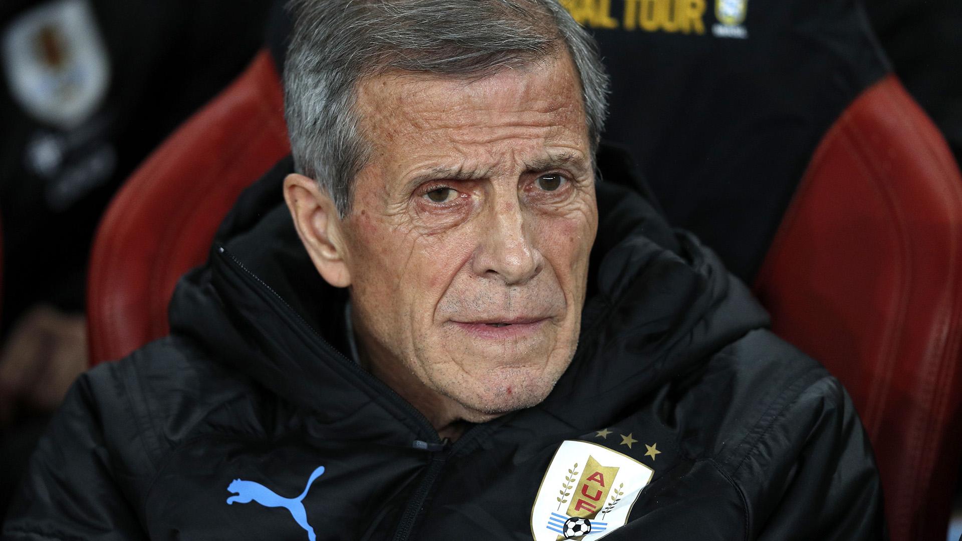 Oscar Tabarez Brazil Uruguay Friendlies 16112018
