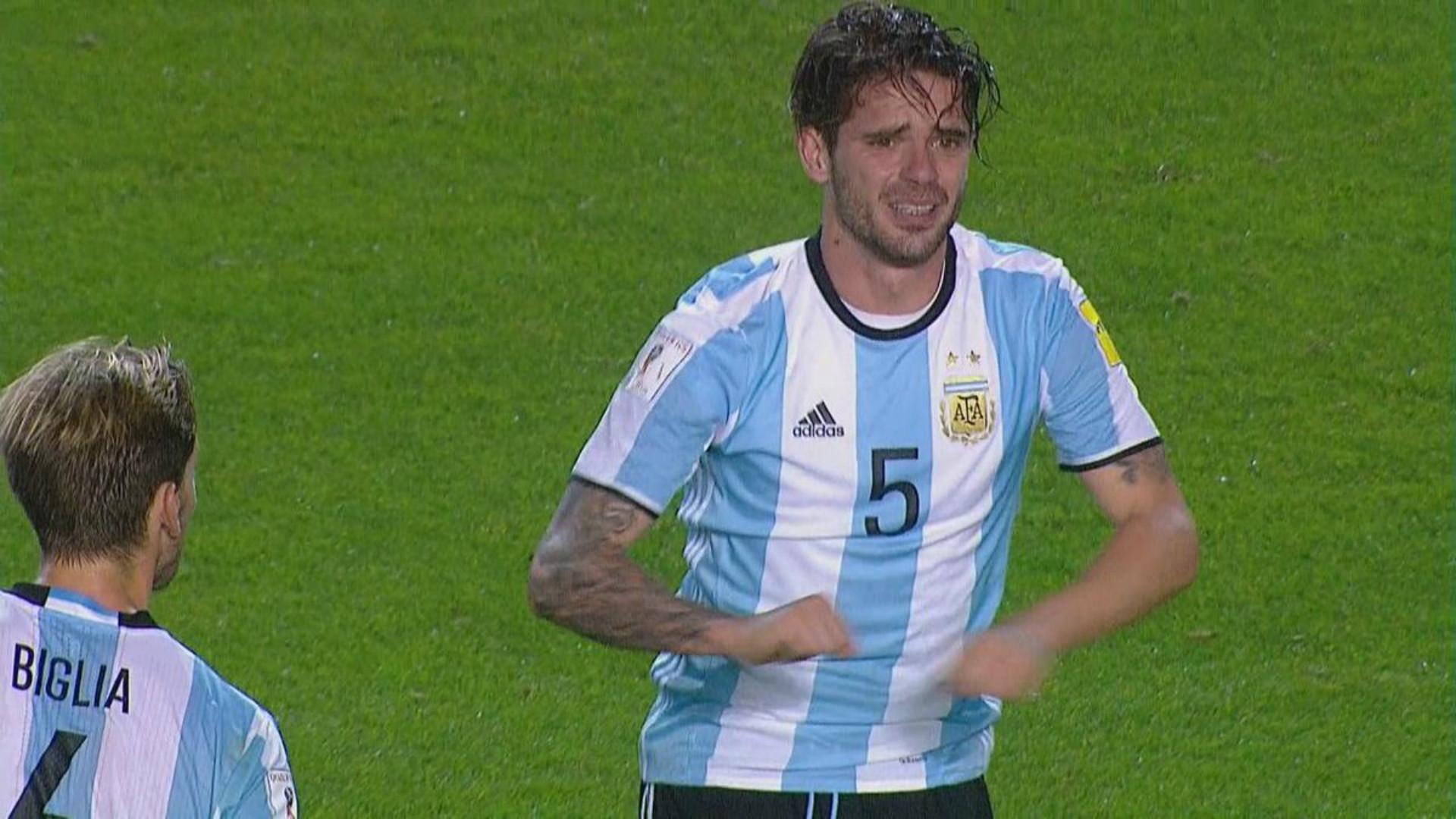 Fernando Gago sufrió grave lesión frente a Perú
