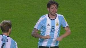 Fernando Gago Argentina Peru WC Qualifier 05102017