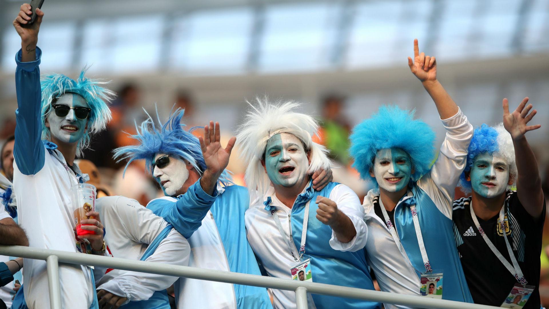Fans Argentina Croatia Croacia Wolrd Cup 2018 21062018