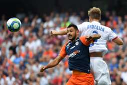 Gaetan Laborde Montpellier Lyon Ligue 1 27082019