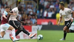 Alexis - Lukaku Manchester United Burnley