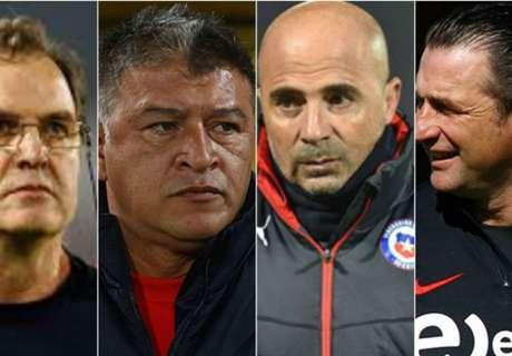 ¿Cómo fueron los debuts de los técnicos de Chile en suelo nacional?