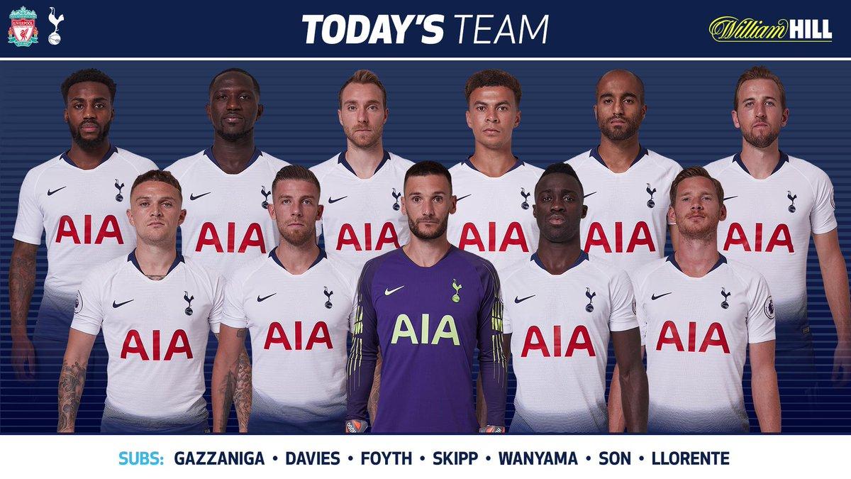 Lineup Liverpool vs Tottenham EPL 31032019