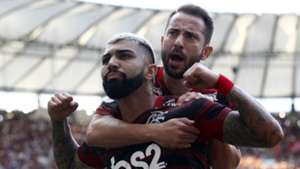 Gabigol Everton Ribeiro Flamengo Athletico Brasileirão Série A 26052019
