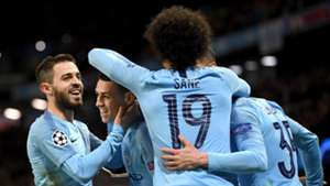 Manchester City celebrates vs Schalke 2018-19