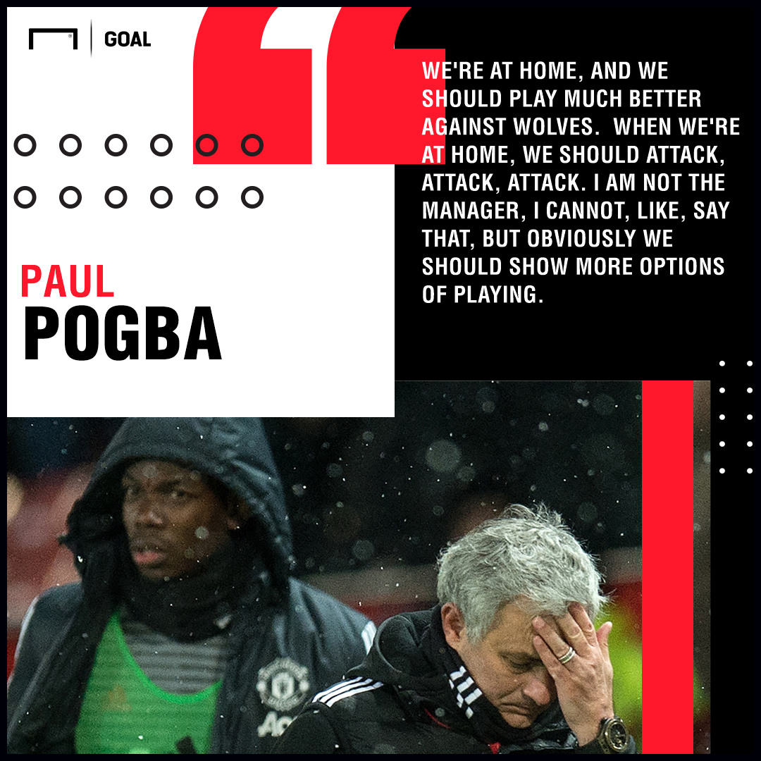Paul Pogba quote on Jose Mourinho Manchester United