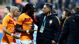 Bafetimbi Gomis Yener Ince Galatasaray Kasimpasa 02182018