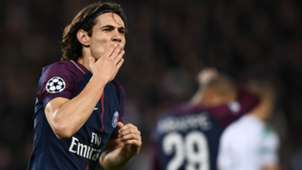 Edinson Cavani PSG Celtic UEFA Champions League 22112017