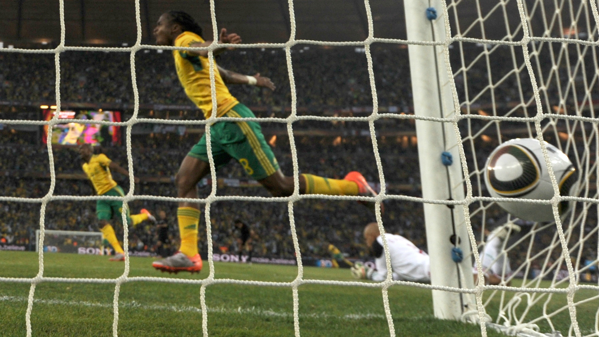 Siphiwe Tshabalala South Africa Mexico 2010 World Cup 06112010
