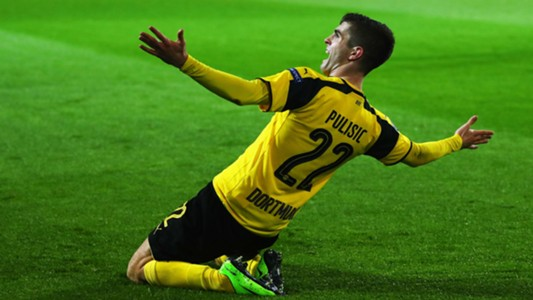 Christian Pulisic Borussia Dortmund vs. Benfica