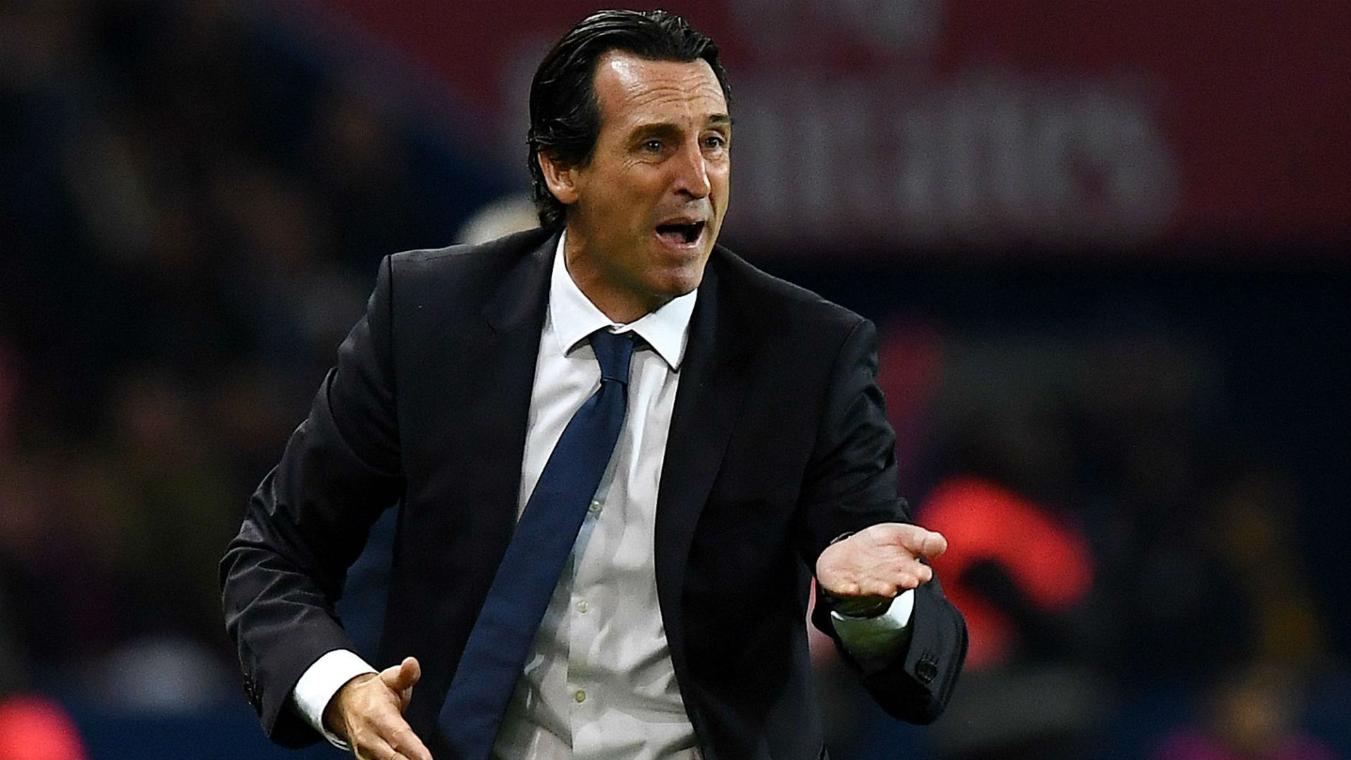 Unai Emery PSG Lyon Ligue 1 17092017