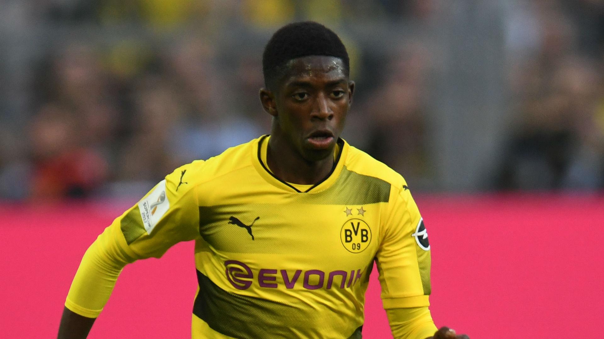 Ousmane Dembele Borussia Dortmund German Super Cup