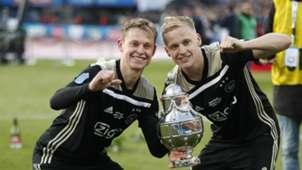 Frenkie de Jong, Donny van de Beek, Ajax, 05052019