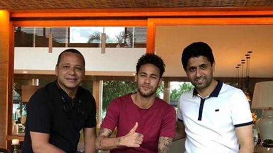 Neymar pai Neymar e Nasser Al Khelaifi Visita em Mangaratiba Rio de Janeiro 12 08 18
