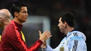 Cristiano Ronaldo - Messi