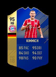 FIFA 18 Bundesliga Team of the Season Joshua Kimmich