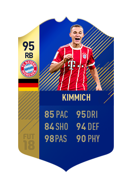 FIFA 18 Bundesliga Team of the Season Joshua Kimmich