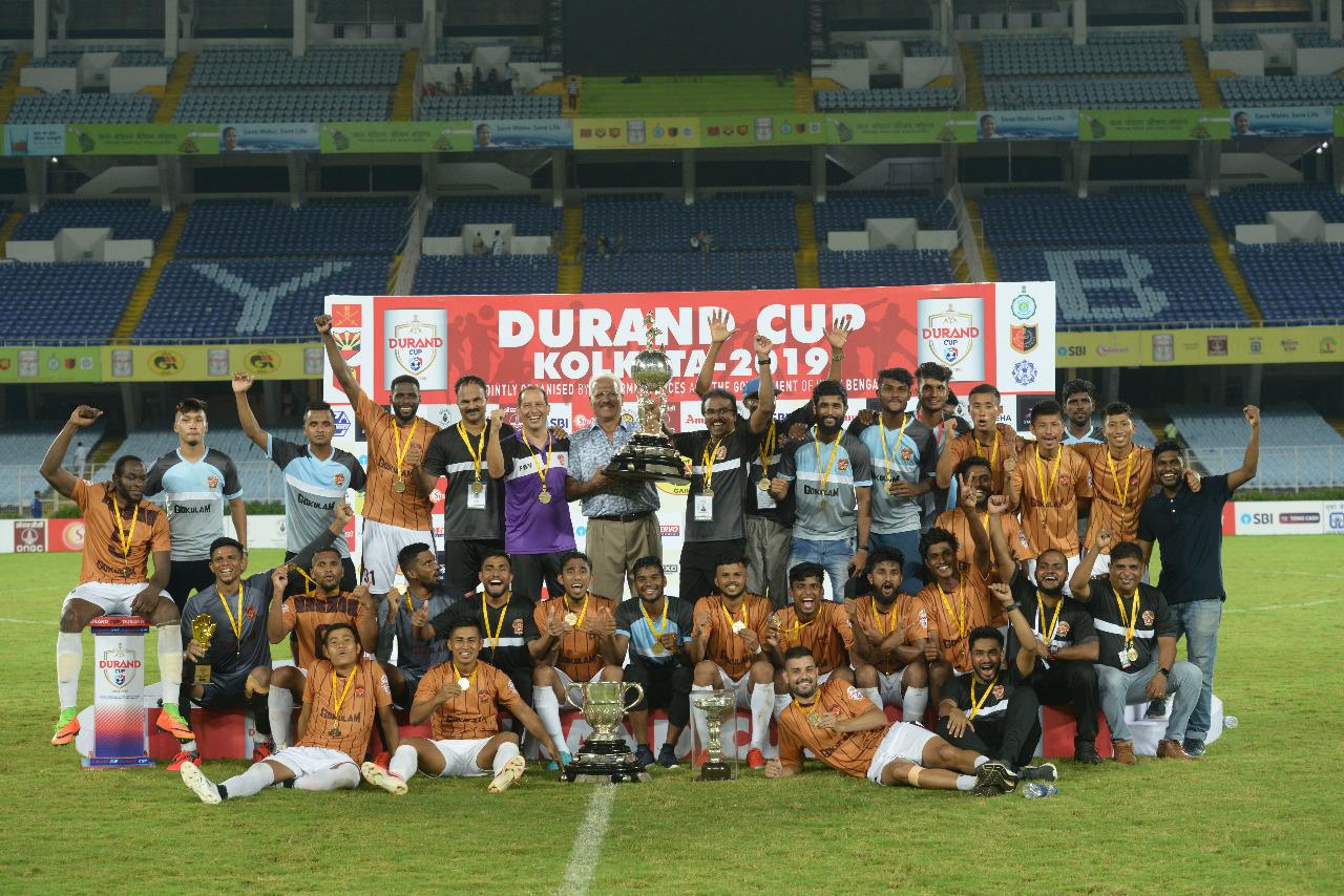 Gokulam Kerala Durand Cup 2019
